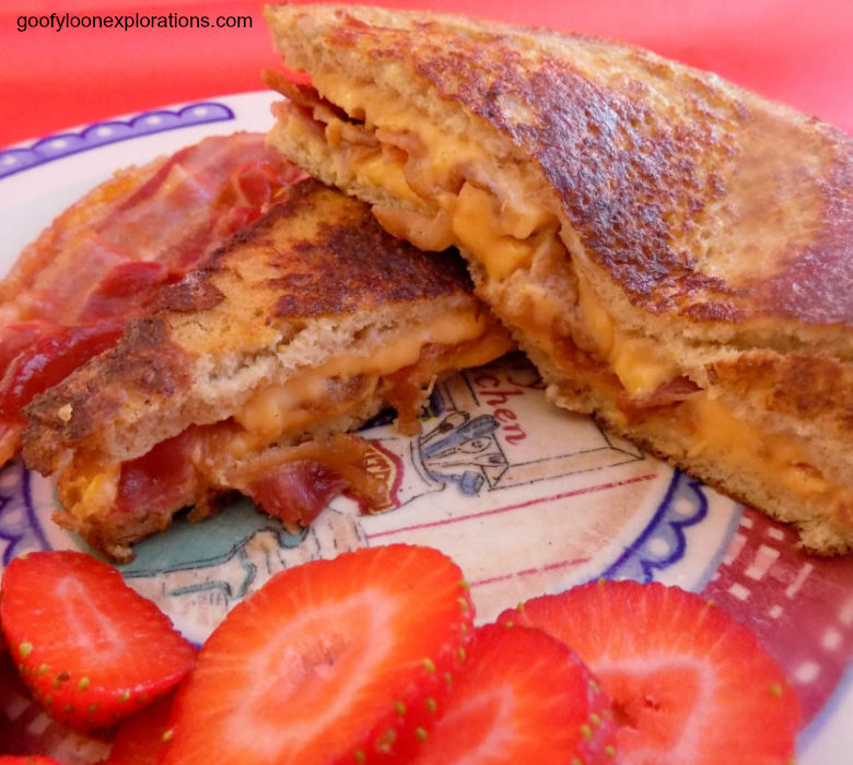 Unbelievably Good Bacon and Cheese Stuffed French Toast