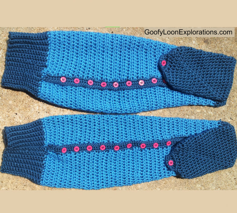 Dialys-Sleeves Arm Warmers – Free Crochet Pattern