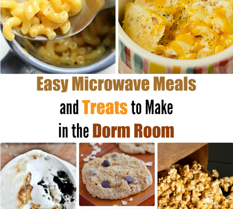 20 Easy Microwave Meals and Treats to Make in the Dorm Room